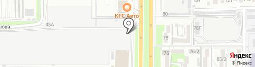 Все 4 колеса на карте Ростова-на-Дону