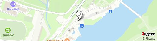 Поисково-спасательная служба на водных объектах г. Липецка на карте Липецка