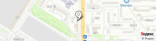 Региональный мониторинговый центр на карте Ростова-на-Дону