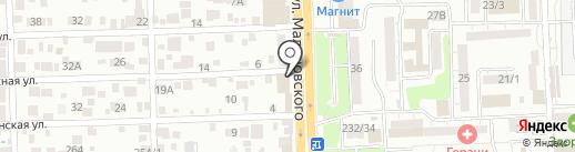 Магазин строительных материалов на карте Ростова-на-Дону