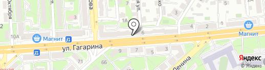 Лавка художника на карте Липецка