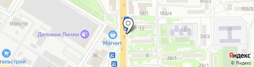Вкуснолюбов на карте Ростова-на-Дону
