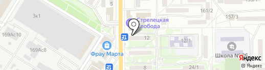 Лайм на карте Ростова-на-Дону