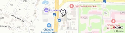 ПонтАвто на карте Ростова-на-Дону
