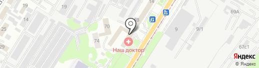 Административно-техническая инспекция г. Липецка на карте Липецка