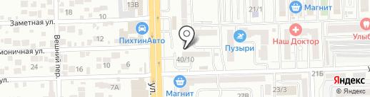 Пивной градус на карте Ростова-на-Дону