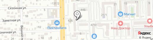Компания по оказанию бытовых услуг на карте Ростова-на-Дону