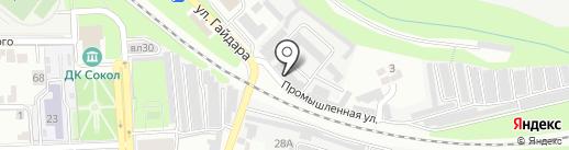Управление ФСИН России по Липецкой области на карте Липецка