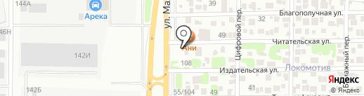 Автостекло на карте Ростова-на-Дону