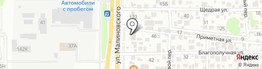 Страховое агентство на карте Ростова-на-Дону
