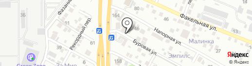 Сбытовая компания Юг на карте Ростова-на-Дону