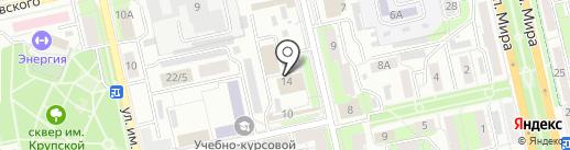 Мастерская по ремонту одежды на карте Липецка