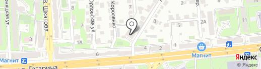 Умный малыш на карте Липецка