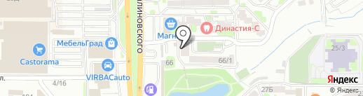 Хорошая аптека на карте Ростова-на-Дону