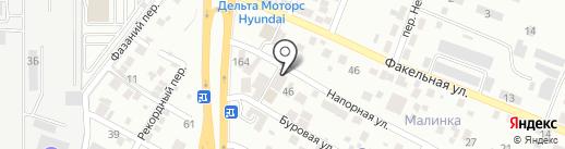 Фрау Дона на карте Ростова-на-Дону