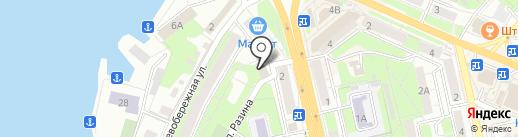 У Ольги на карте Липецка
