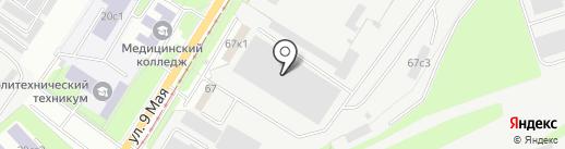 НЕОПРИНТ на карте Липецка