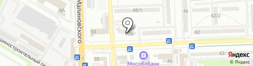 Доверие на карте Ростова-на-Дону
