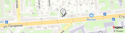 Круглячок на карте Липецка