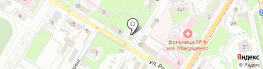 Энергосервис на карте Липецка