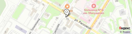 Металлург-5 на карте Липецка