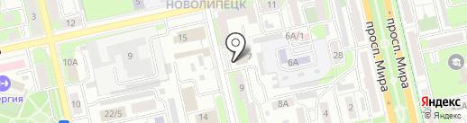 Роман с мебелью на карте Липецка