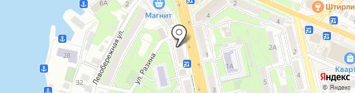 Ксюша на карте Липецка