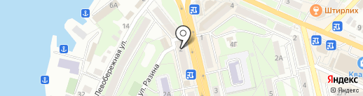 Магазин мелкой бытовой техники на карте Липецка