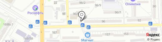 Ателье на карте Ростова-на-Дону