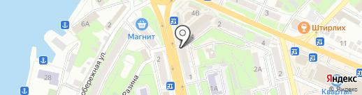 Почтовое отделение №41 на карте Липецка