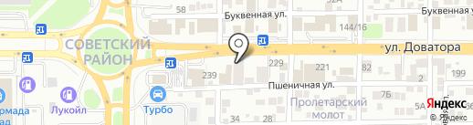 SHAН-мебель на карте Ростова-на-Дону