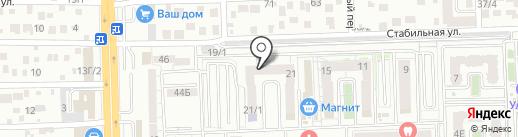 Ерш на карте Ростова-на-Дону