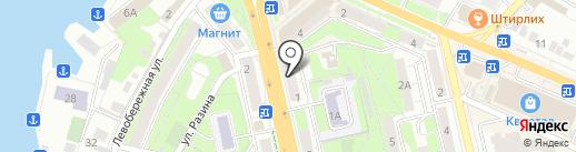 Belwest на карте Липецка