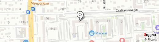 Перевозки61 на карте Ростова-на-Дону