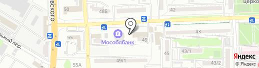 Магазин выпечки на карте Ростова-на-Дону