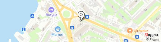 Мастерская по ремонту обуви на площади Мира на карте Липецка
