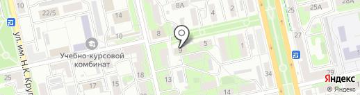 Диона на карте Липецка