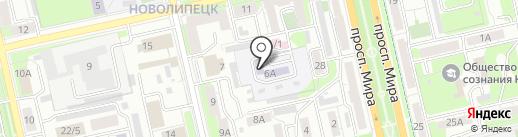 Детский сад №22 на карте Липецка