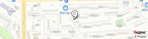 Белошвейка на карте Ростова-на-Дону