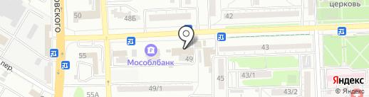 Магазин по продаже выпечки на карте Ростова-на-Дону