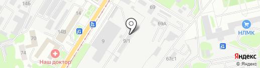 Хайвэй на карте Липецка