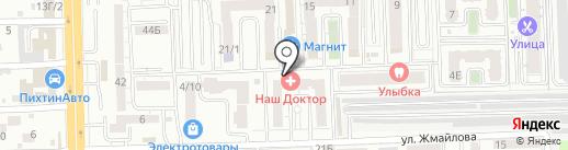Стиляги на карте Ростова-на-Дону