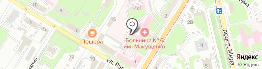 Областная научная медицинская библиотека на карте Липецка
