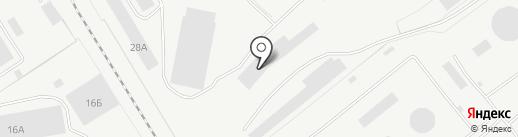 РМК на карте Рязани