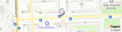 Ломбард Аврора на карте Ростова-на-Дону