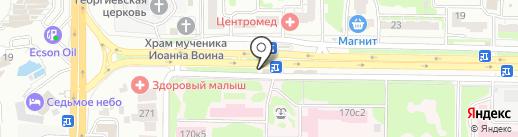 СтильДом на карте Ростова-на-Дону