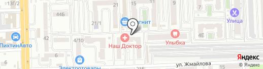 Автомат по продаже воды на карте Ростова-на-Дону