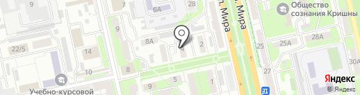 Металлург-1 на карте Липецка