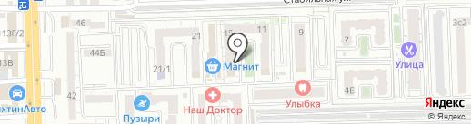 Домстрой на карте Ростова-на-Дону
