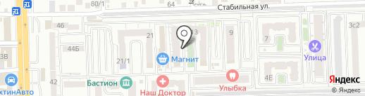 Сервис-ONE на карте Ростова-на-Дону